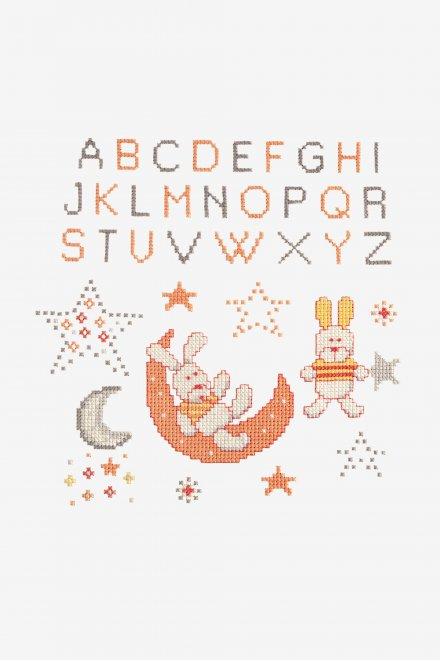 Dreamy Rabbit - pattern - Free Cross Stitch Patterns