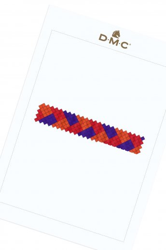 Basket Weave Friendship Bracelet - pattern