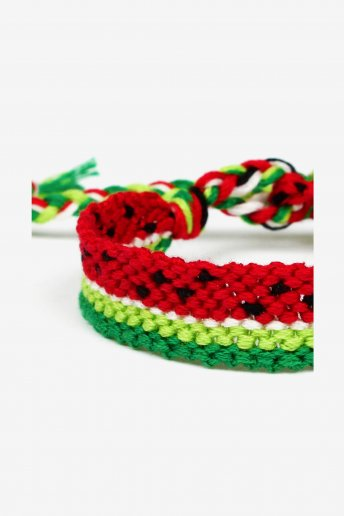 Watermelon Friendship Bracelet - pattern