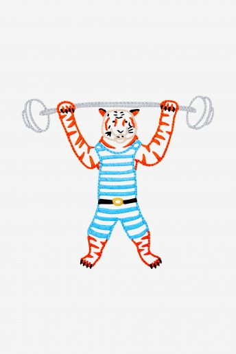 Strongman Tiger - pattern