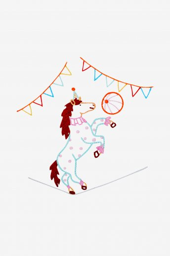 Tightrope Pony  - pattern