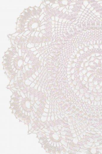 Napperon - motif crochet