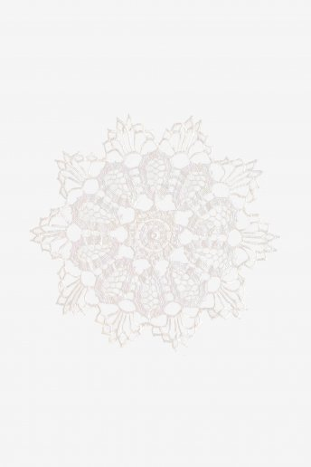 Napperon 3 - motif crochet