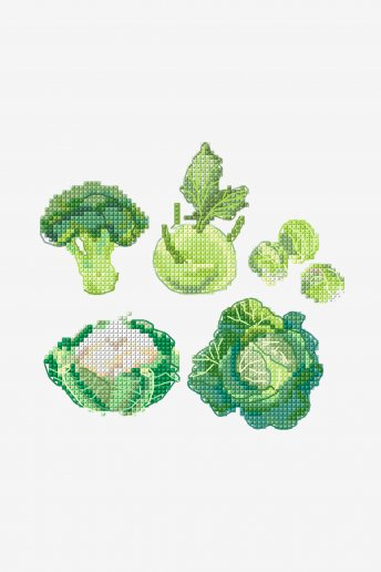 Cabbages - pattern
