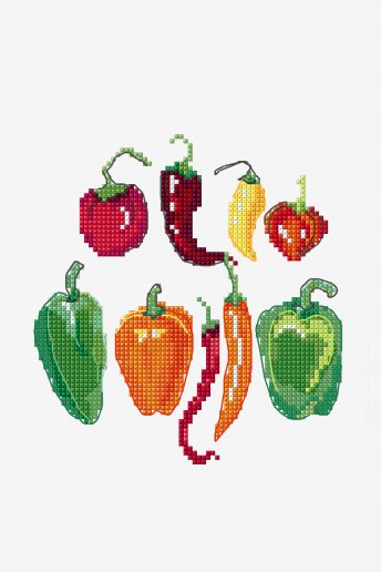Peppers - pattern