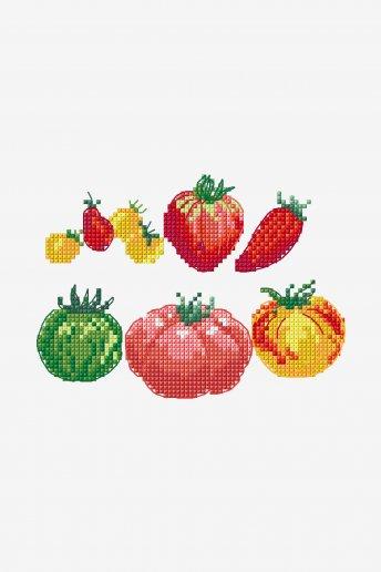 Tomaten - Kreuzstich