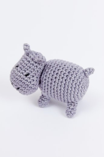 Hipopótamo - PATRÓN DE GANCHILLO