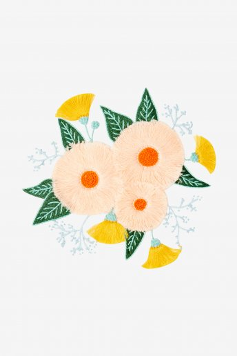 Summer Flowers - pattern