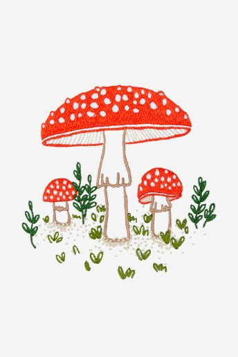 Toadstool - pattern