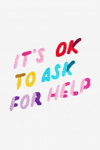 It's OK to Ask for Help - SCHEMA GRATUITO