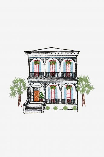 New Orleans Home - pattern