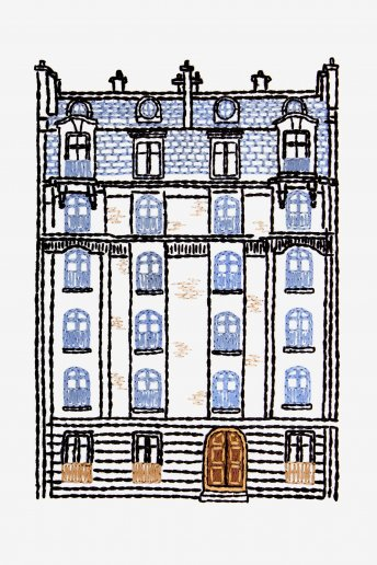 Parisian Apartments - pattern