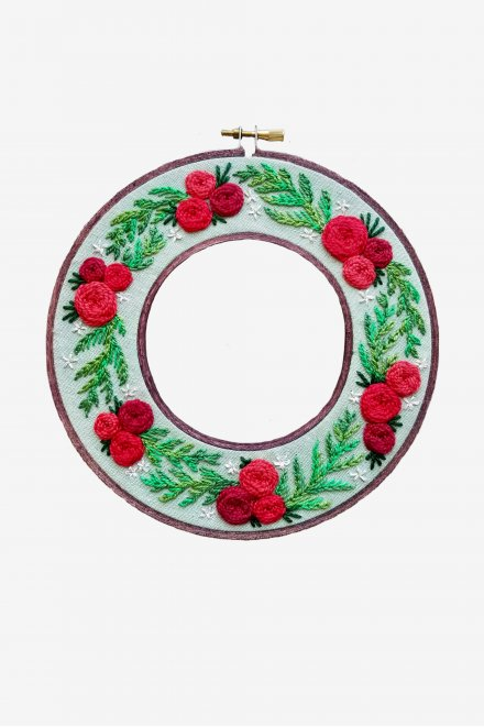 Holiday Wreath Pattern_2