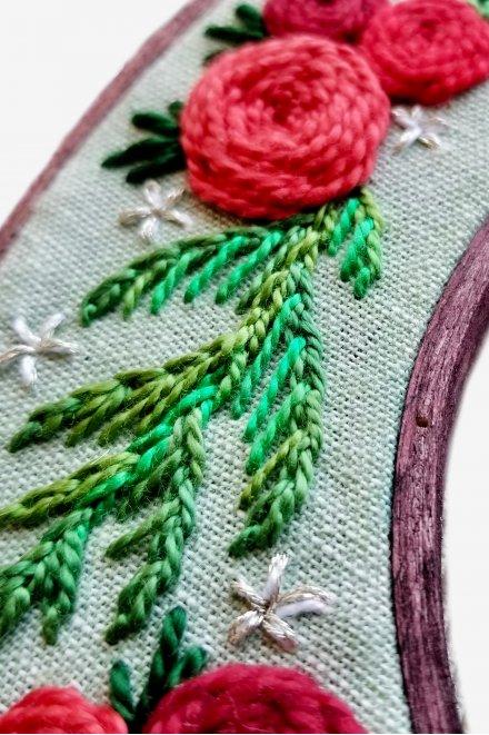 Holiday Wreath Close Up