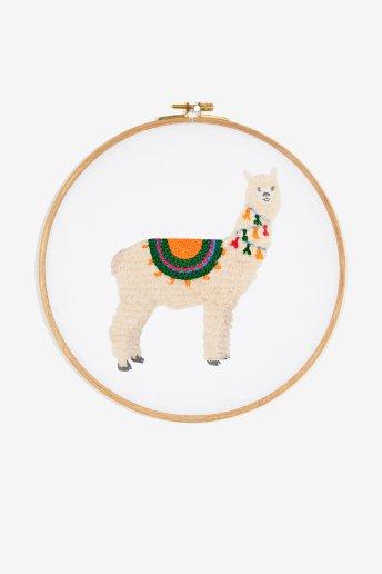Bright Alpaca - pattern
