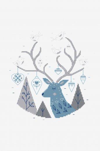 Christmas Deer - pattern