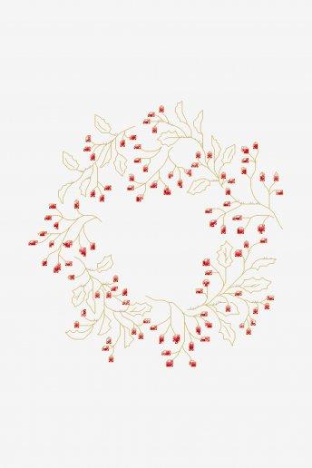 Winter Wreath - pattern