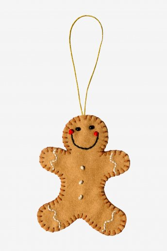 Gingerbread Man Decoration  - pattern