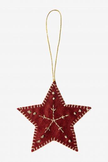 Décoration étoile - motif loisirs créatifs