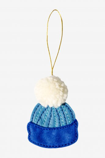 Woolly Hat Decoration - pattern