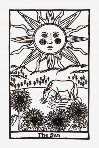 The Sun - pattern