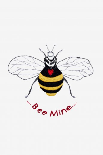 Bee Mine - DIAGRAMA DE BORDADO