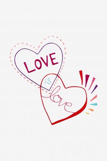 Love is Love - pattern