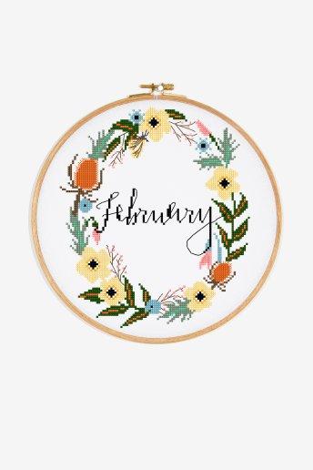 Februar - ZÄHLVORLAGE
