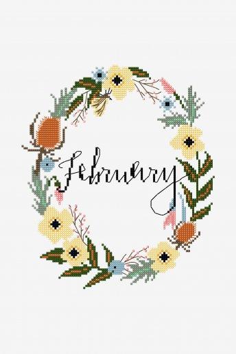 February - pattern