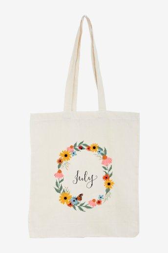 July - pattern