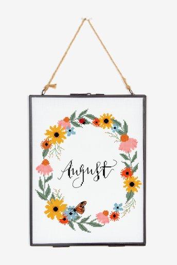 August - ZÄHLVORLAGE