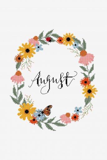 August - pattern