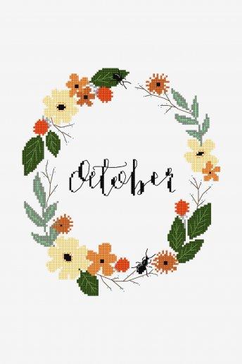 October - pattern