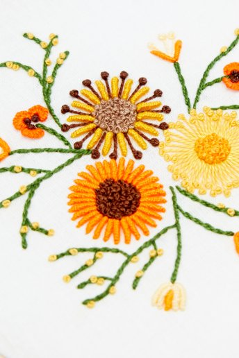 Sunflower Time - pattern
