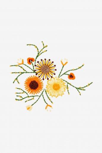 Sonnenblumen - STICKMOTIV