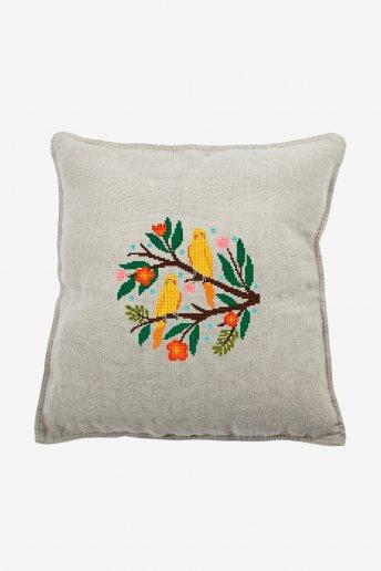 Yellow Parakeets - pattern