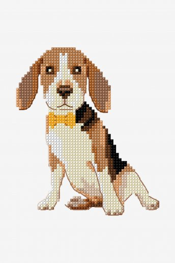 Beagle - DIAGRAMA DE PUNTO CRUZ