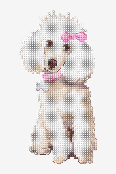 Chart Counted Cross Stitch Patterns Needlework DIY DMC Sweetheart's Gate