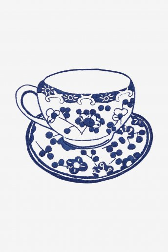 The Chinese Porcelain Cup - pattern