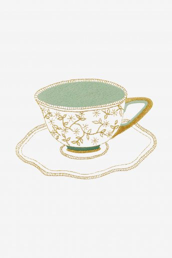 The Liberty Porcelain Cup - pattern