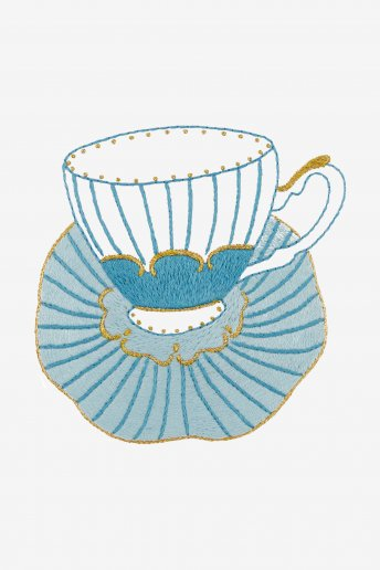 The Striped Porcelain Cup