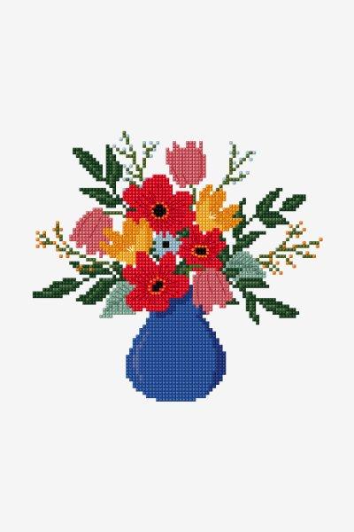 Chevaux Cross Stitch Pattern DMC Needlepoint Pattern Embroidery Chart Imprimable PDF T\u00e9l\u00e9chargement instantan\u00e9