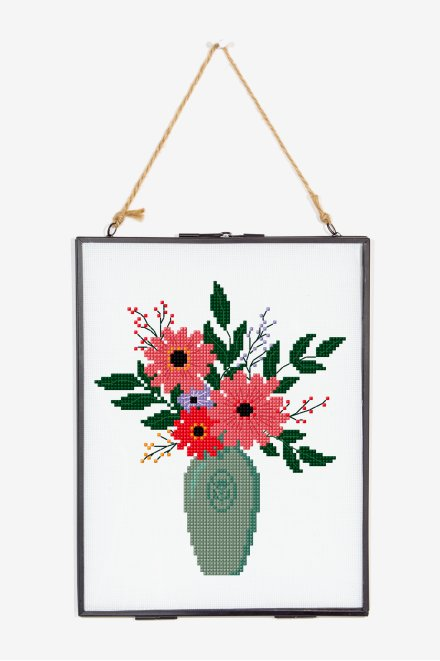 Summer Vase - pattern