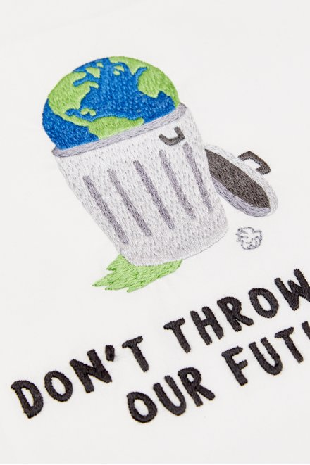 Don't Throw Away Our Future - pattern
