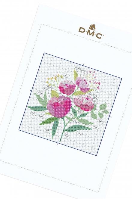 Peony Bouquet - Pattern