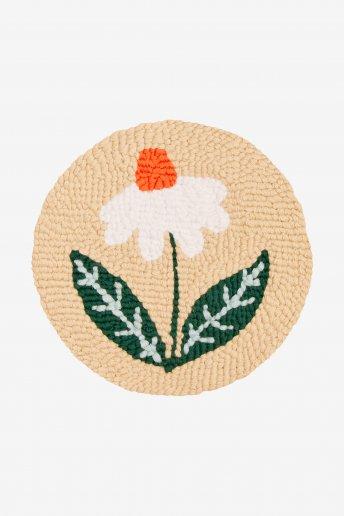 Marguerite d'été - Punch Needle - motif loisirs créatifs