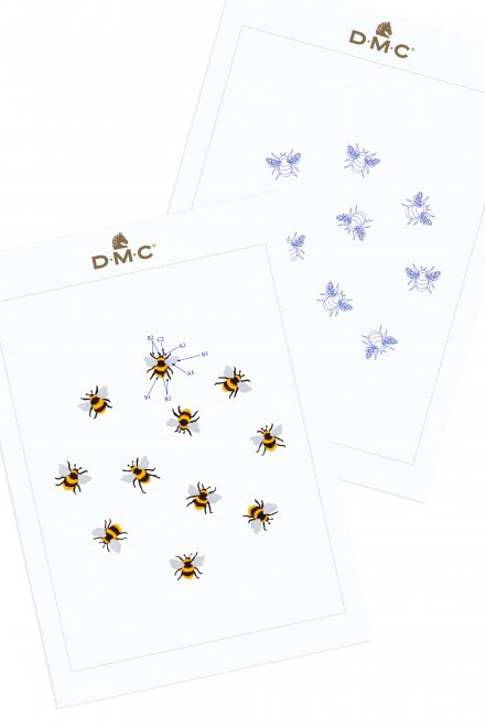 Bees - Pattern