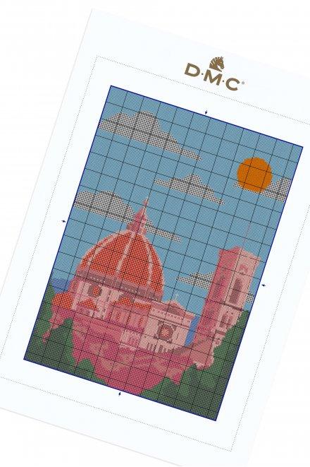 Florence - Motif point de croix