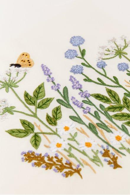 Prato di fiori selvatici - schema