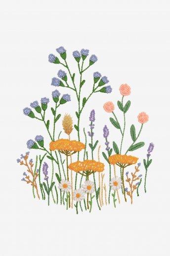 Campo florido - Desenho